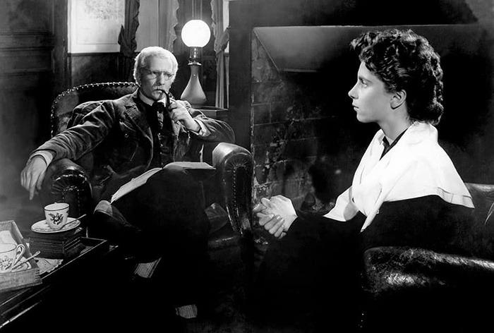 Nicole Stéphane y Jean-Marie Robain . (El silencio del mar. Melville Productions. 1949.)