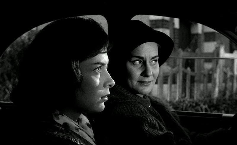 Alida Valli y Juliette Mayniel. (Los ojos sin rostro. Champs-Élysées Productions, Lux Film. 1960.)
