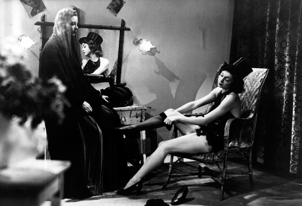 Elina Labourdette. (Las damas del bosque de Bolonia. Les Films Raoul Ploquin. 1945.)