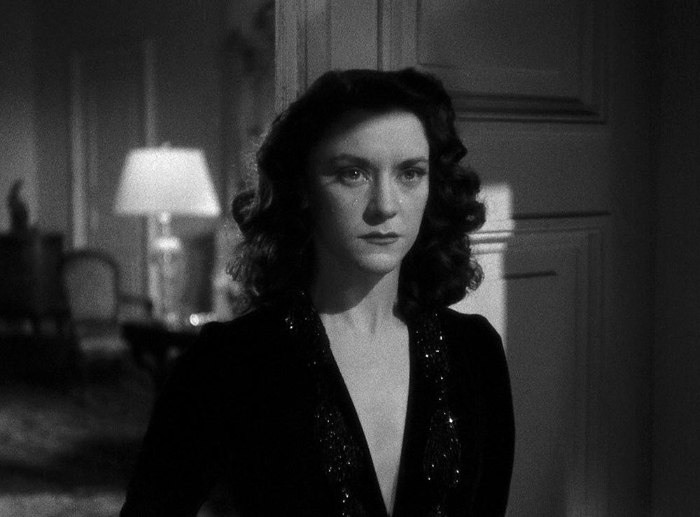 María Casares. (Las damas del bosque de Bolonia. Les Films Raoul Ploquin. 1945.)