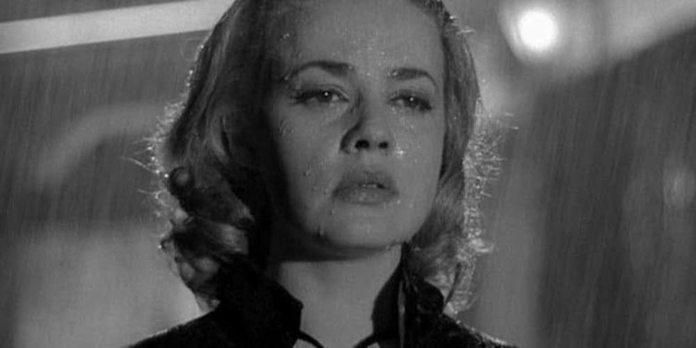 Jeanne Moreau. (Ascensor para el cadalso. Nouvelles Éditions de Films. 1958.)
