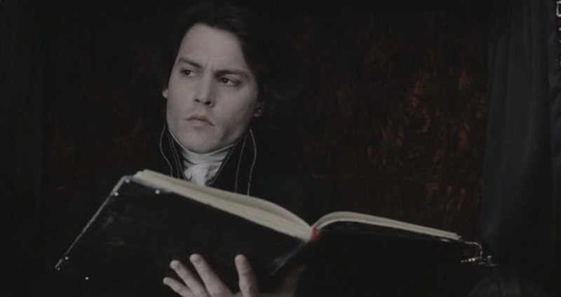 Johnny Depp. (Sleepy Hollow. Mandalay Pictures, Scott Rudin Productions, American Zoetrope. 1999.)
