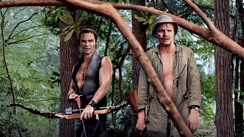 John Voight y Burt Reynolds. (Deliverance. Warner Bros., Elmer Enterprises. 1972.)