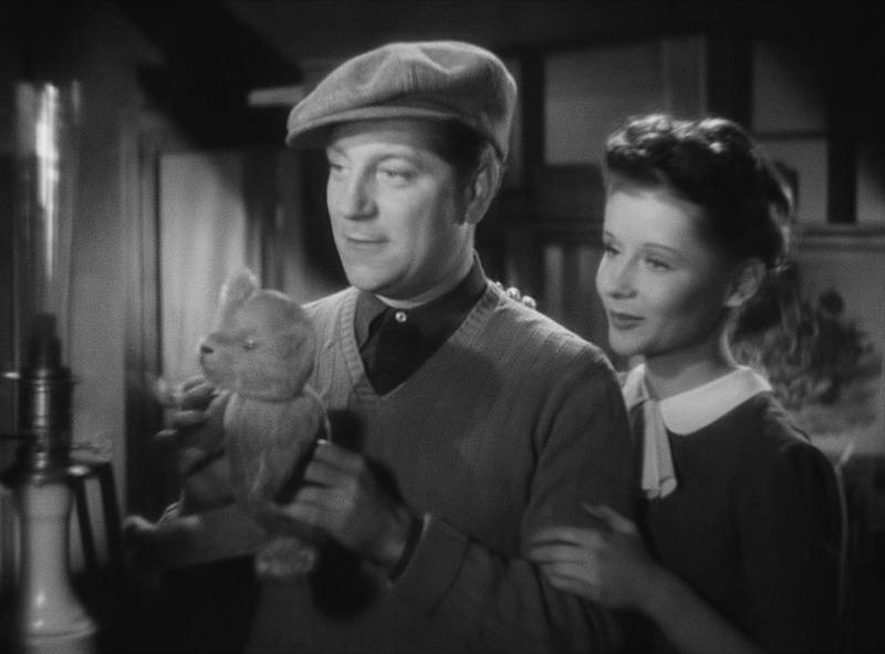 Jacqueline Laurent y Jean Gabin. (Al despertar el día. Productions Sigma. 1939.)