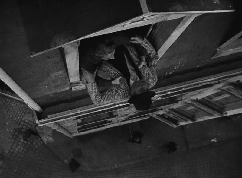 Jules Berry y Jean Gabin. (Al despertar el día. Productions Sigma. 1939.)