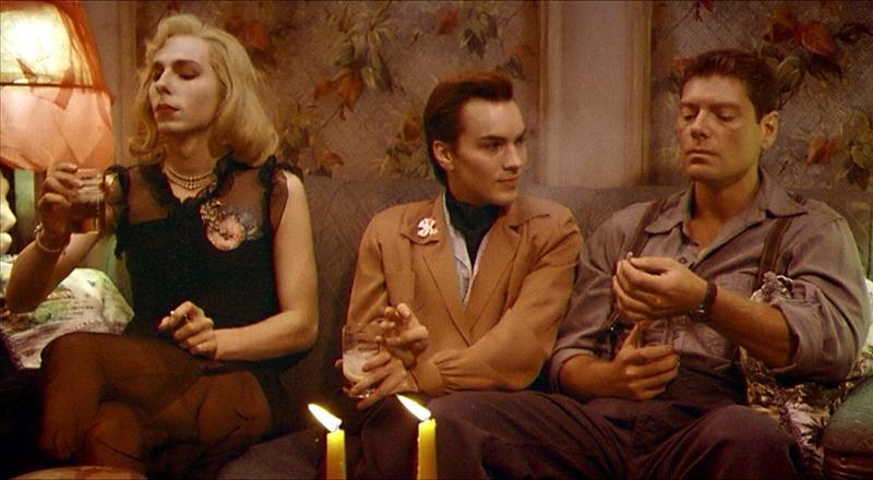 Robi Martin, Bernard Zette y Stephen Lang. (Última salida, Brooklyn. Constantin Film, Bavaria Film, Allied Filmmakers. 1989.)