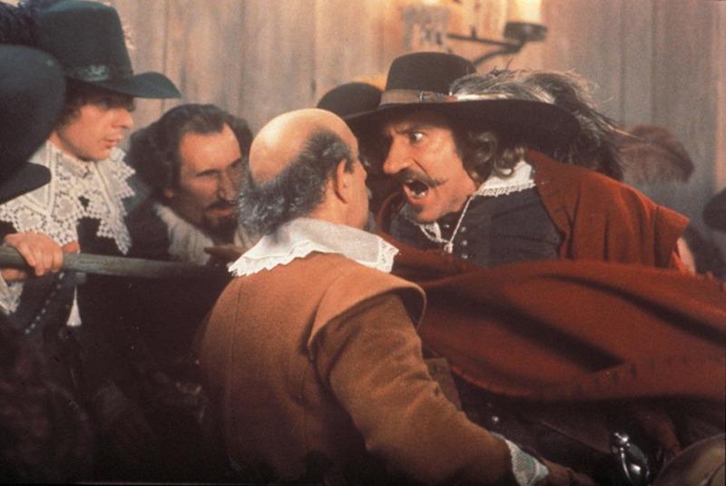Cyrano de Bergerac. (Caméra One, CNC, Hachette Première et Cie, UGC Images, DD Productions, Films A2, Investors Club, La Sofica Sofinergie. 1990.)