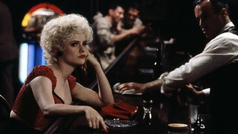 Jennifer Jason Leigh. (Última salida, Brooklyn. Constantin Film, Bavaria Film, Allied Filmmakers. 1989.)