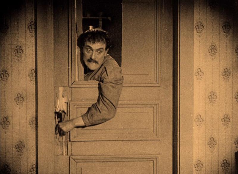 Victor Sjöström. (La carreta fantasma. Svensk Filmindustri. 1921.)