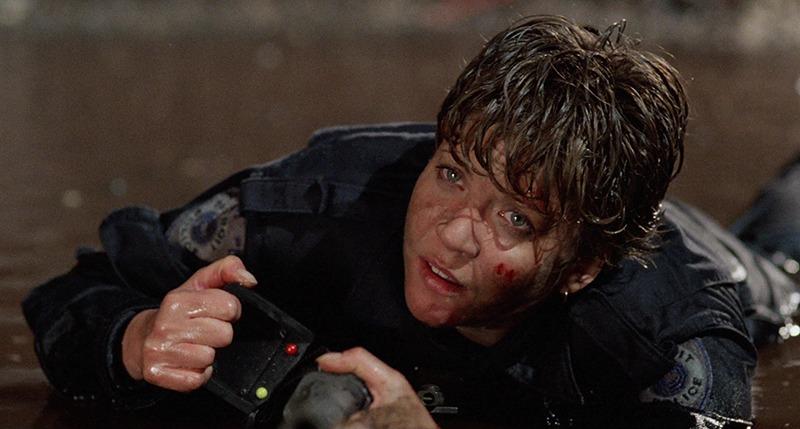 Nancy Allen. (Robocop. Orion Pictures. 1987.)