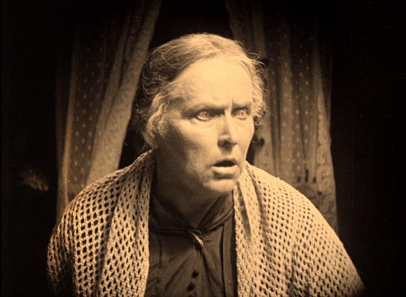 Concordia Selander. (La carreta fantasma. Svensk Filmindustri. 1921.)