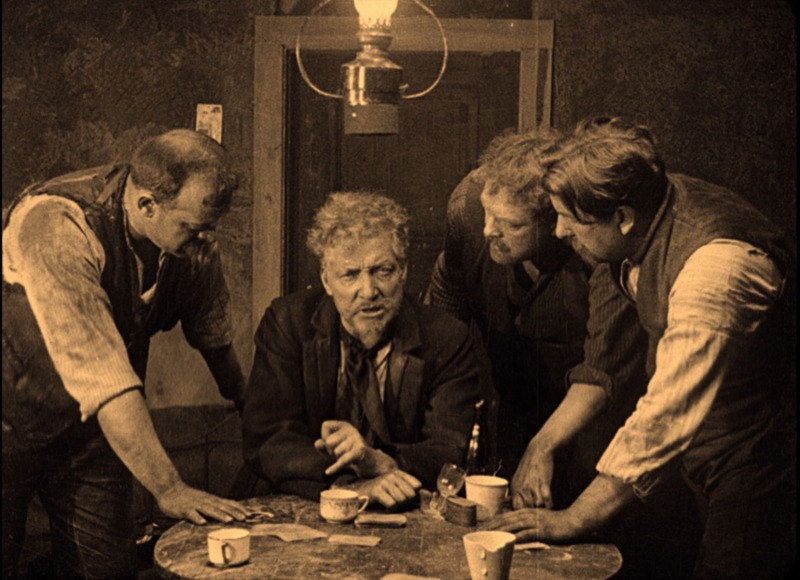 La carreta fantasma. (Svensk Filmindustri. 1921.)