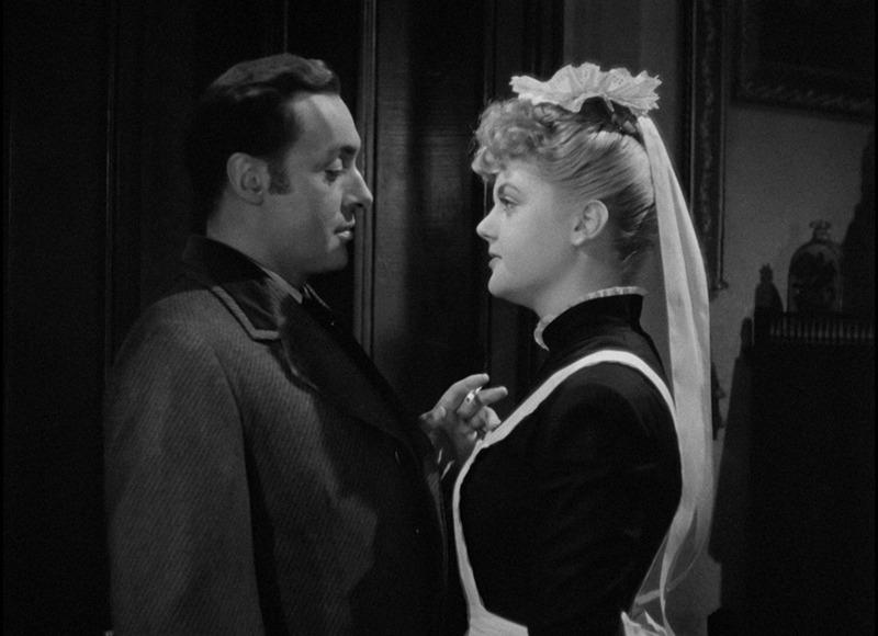 Angela Lansbury y Charles Boyer. (Gaslight. Metro-Goldwyn-Mayer. 1944.)