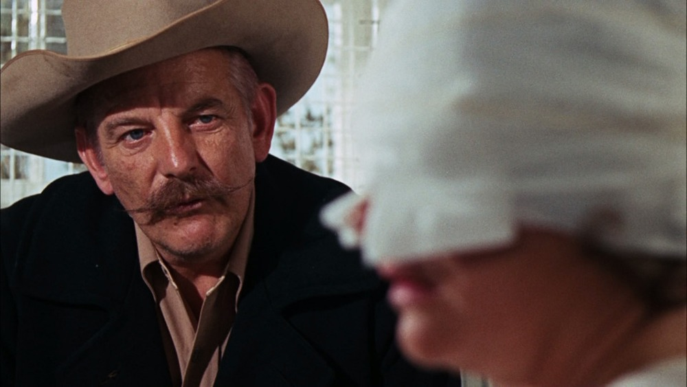 Denver Pyle. (Bonnie & Clyde. Warner Bros., Seven Arts Pictures. 1967.)
