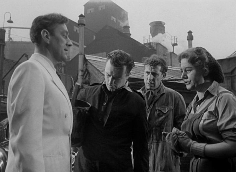 El hombre del traje blanco. (Ealing Studios. 1951.)
