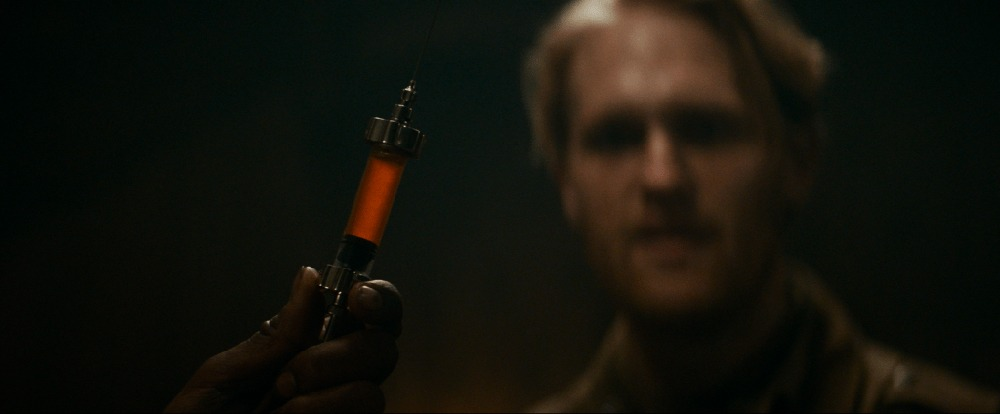 Wyatt Russell. (Overlord. Bad Robot, Paramount Pictures. 2018.)