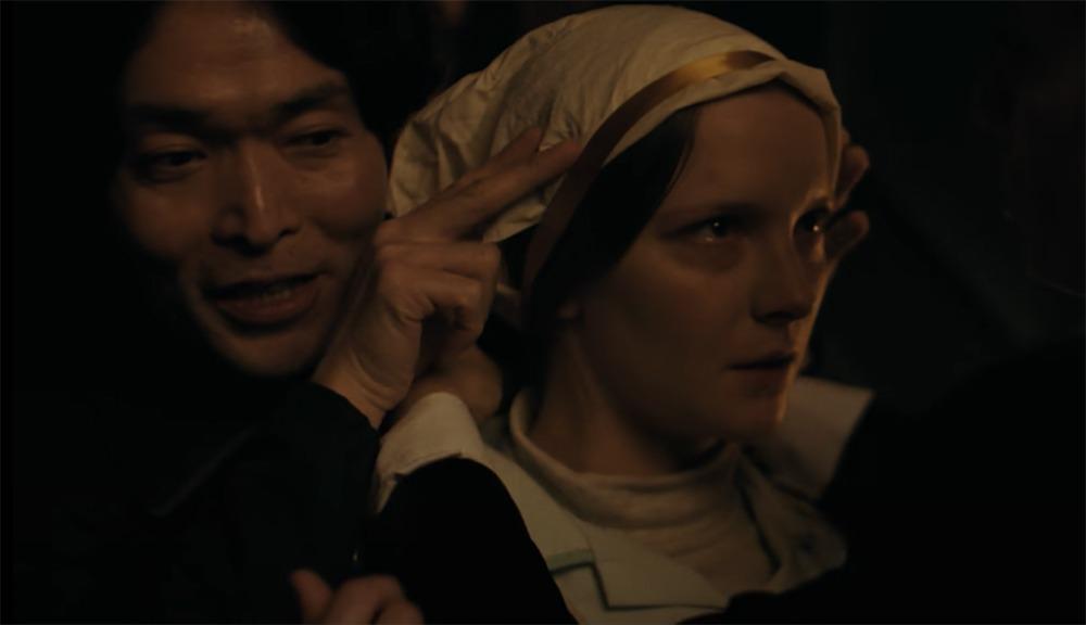 Morfydd Clark. (Saint Maud. Escape Plan Productions, BFI Film Fund. 2019.)